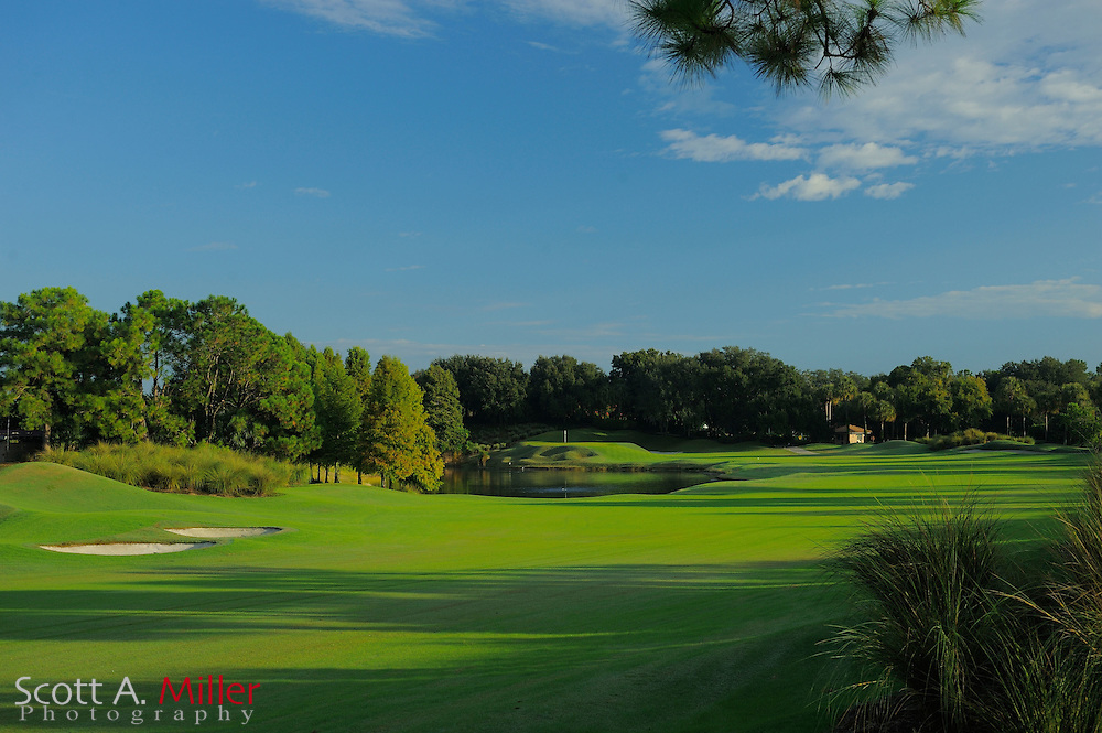 The sixth hole on the South Course at Grand Cypress on Oct. 19, 2010 in Orlando, Florida......©2010 Scott A. Miller