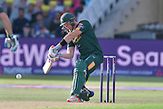 Riki Wessels picks up over mid on during the Natwest T20 Blast quarter final match between Nottinghamshire County Cricket Club and Essex County Cricket Club at Trent Bridge, West Bridgford, United Kingdom on 8 August 2016. Photo by Simon Trafford.