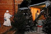 Crèche vivante à La Roche, Krippenspiel in La Roche, Noël, Weihnachten 2009.