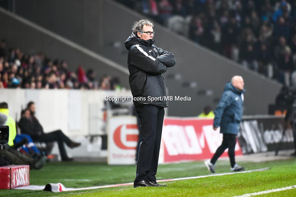 Laurent BLANC - 03.12.2014 - Lille / Paris Saint Germain - 16eme journee de Ligue 1 -<br />Photo : Fred Porcu / Icon Sport