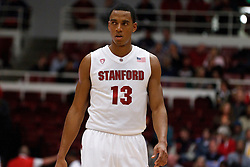 December 15, 2010; Stanford, CA, USA;  Stanford Cardinal forward/center Josh Owens (13) before a free throw against the North Carolina A&T Aggies during the first half at Maples Pavilion.  Stanford defeated North Carolina A&T 76-59.