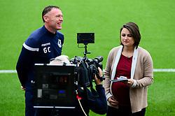 Bristol Rovers manager Graham Coughlan is interviewed - Mandatory by-line: Dougie Allward/JMP - 12/10/2019 - FOOTBALL - Memorial Stadium - Bristol, England - Bristol Rovers v Milton Keynes Dons - Sky Bet League One
