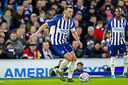 Brighton & Hove Albion midfielder Dale Stephens (6) during the The FA Cup match between Brighton and Hove Albion and Sheffield Wednesday at the American Express Community Stadium, Brighton and Hove, England on 4 January 2020.