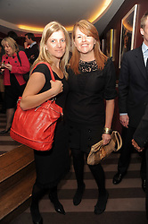 A party to promote the exclusive Puntacana Resort & Club - the Caribbean's Premier Golf & Beach Resort Destination, was held at The Groucho Club, 45 Dean Street London on 12th May 2010.<br /> <br /> Picture shows:-Left to right, EMILY WRIGHT and PIPPA JACKS