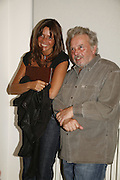 COUNTESS DEBBIE VON BISMARCK AND DAVID BAILEY, David Bailey, Havana. Faggionato fine art. Albermarle St. London. 20 September 2006. ONE TIME USE ONLY - DO NOT ARCHIVE  © Copyright Photograph by Dafydd Jones 66 Stockwell Park Rd. London SW9 0DA Tel 020 7733 0108 www.dafjones.com