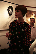 Erin O'Connor, Private View of 'Icon' - life drawings of Erin O'Connor by   Mark Demsteader. Panter & Hall, 9 Shepherd Market, London 17 April 2007.  -DO NOT ARCHIVE-© Copyright Photograph by Dafydd Jones. 248 Clapham Rd. London SW9 0PZ. Tel 0207 820 0771. www.dafjones.com.