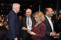 19.01.2019, Kleine Olympiahalle, Muenchen, GER, CSU Parteitag in München, im Bild von links: Horst Seehofer, Edmund Stoiber,Daniela Ludwig, Manfred Weber // during the CSU party congress at the Kleine Olympiahalle in Muenchen, Germany on 2019/01/19. EXPA Pictures © 2019, PhotoCredit: EXPA/ SM<br /> <br /> *****ATTENTION - OUT of GER*****