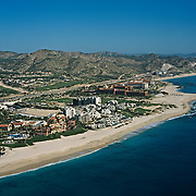 Aerial view of Cabo Real.<br />