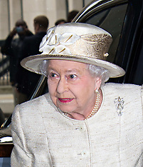 MAY 07 2014  The Queen, The Duke of Edinburgh, attend Journalists reception