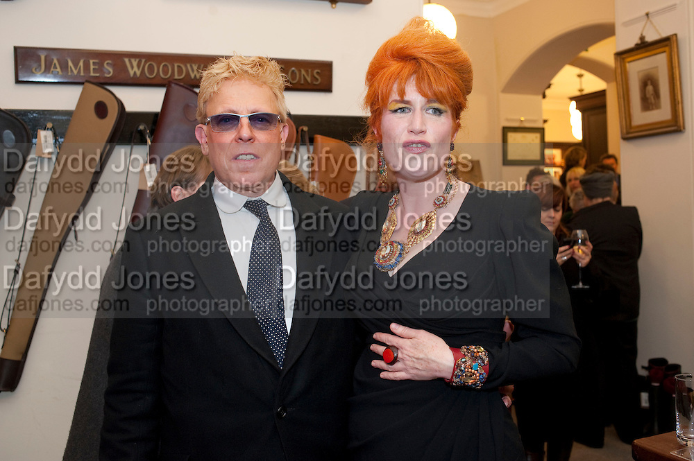 ANTHONY PRICE;  JUDITH WATT;, Judith Watt's Dogs in Vogue BOOK LAUNCH. James Purdey and Sons. 57-58 S. Audley St. London.