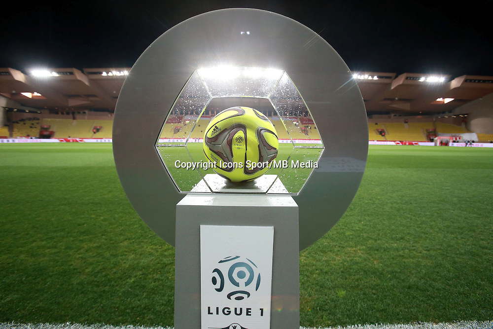 Ballon du match - 13.03.2015 -   Monaco / Bastia -  29eme journee de Ligue 1 <br />