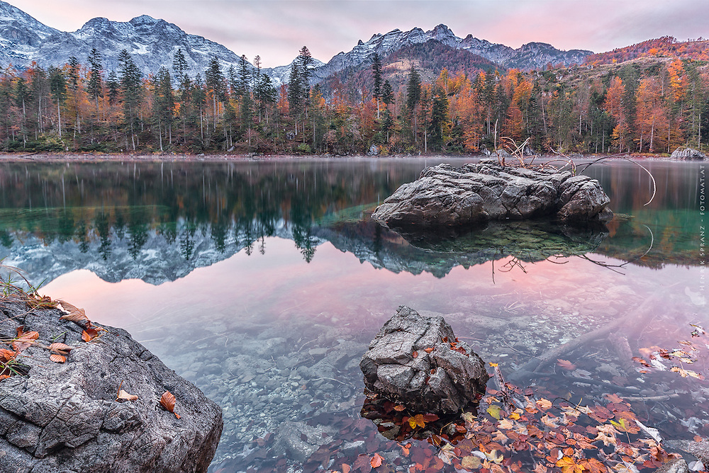 It needed years to get there again and find the conditions I wanted to have in this picture - especially the low water and nice light.<br /> Austria can be really beautiful! :)