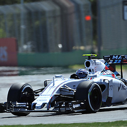 Valtteri Bottas of Williams Martini F1 Team.<br /> Round 1 - Second day of the 2015 Formula 1 Rolex Australian Grand Prix at The circuit of Albert Park, Melbourne, Victoria on the 13th March 2015.<br /> Wayne Neal | SportPix.org.uk
