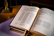 The Lutheran Service Book: Altar Book on Wednesday, May 13, 2020, at St. Paul's Lutheran Church, Columbia, Ill. LCMS Communications/Erik M. Lunsford