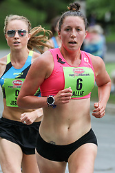 Allie Keiffer, pro runner with Oiselle, leading Jess Tonn, has captivated the running world after a surprising 5th place in the 2017 NYC marathon. Advocating for healthy body image, Keiffer competes at the highest level of American road-racing.<br /> <br /> Freihofer's 5K Run For Women<br /> 40th year
