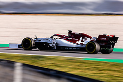 February 28, 2019 - Montmelo, BARCELONA, Spain - Antonio Giovinazzi from Italy with 99 Alfa Romeo Racing in action during the Formula 1 2019 Pre-Season Tests at Circuit de Barcelona - Catalunya in Montmelo, Spain on February 28. (Credit Image: © AFP7 via ZUMA Wire)