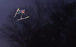 02.02.2019, Heini Klopfer Skiflugschanze, Oberstdorf, GER, FIS Weltcup Skiflug, Oberstdorf, im Bild Philipp Aschenwald (AUT) // Philipp Aschenwald of Austria during his Jump of FIS Ski Jumping World Cup at the Heini Klopfer Skiflugschanze in Oberstdorf, Germany on 2019/02/02. EXPA Pictures © 2019, PhotoCredit: EXPA/ JFK