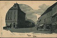 Zagreb : Bakačeva ulica = Agram : Bakac-Gasse. <br /> <br /> ImpresumZagreb : Papirnica J. i S. Fürst, [1900].<br /> Materijalni opis1 razglednica : tisak ; 9 x 14 cm.<br /> NakladnikPapirnica J. i S. Fürst<br /> Mjesto izdavanjaZagreb<br /> Vrstavizualna građa • razglednice<br /> ZbirkaGrafička zbirka NSK • Zbirka razglednica<br /> Formatimage/jpeg<br /> PredmetZagreb –– Ulica Tome Bakača<br /> SignaturaRZG-BAK-1<br /> Obuhvat(vremenski)19. stoljeće • 20. stoljeće<br /> NapomenaPoleđina razglednice namijenjena je samo za adresu. • Razglednica je putovala 1900. godine.<br /> PravaJavno dobro<br /> Identifikatori000952505<br /> NBN.HRNBN: urn:nbn:hr:238:871926 <br /> <br /> Izvor: Digitalne zbirke Nacionalne i sveučilišne knjižnice u Zagrebu