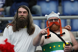 March 16, 2019 - Rome, RM, Italy - France fans during the Six Nations International Rugby Union match between Italy and France at Stadio Olimpico on March 16, 2019 in Rome, Italy. (Credit Image: © Danilo Di Giovanni/NurPhoto via ZUMA Press)