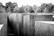 The Memorial to the Murdered Jews of Europe, also known as the Holocaust Memorial, is a memorial in Berlin to the Jewish victims of the Holocaust, designed by architect Peter Eisenman and engineer Buro Happold.