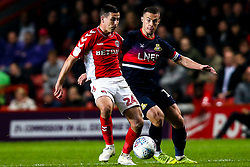 Josh Cullen of Charlton Athletic takes on Tommy Rowe of Doncaster Rovers - Mandatory by-line: Robbie Stephenson/JMP - 17/05/2019 - FOOTBALL - The Valley - Charlton, London, England - Charlton Athletic v Doncaster Rovers - Sky Bet League One Play-off Semi-Final 2nd Leg