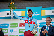 Stage winner of Rick Zabel Team Katusha–Alpecin during the second stage of the Tour de Yorkshire from Barnsley to Bedale, Barnsley, United Kingdom on 3 May 2019.