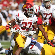 USC prevailed over Stanford 13-10 at Stanford Stadium, Palo Alto, California.   Photo by Barry Markowitz, 12:30pm, 9/06/14