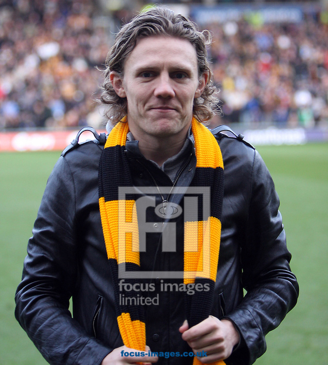 Hull - Saturday, January 24th, 2009:  Hull City parade new record signing Jamie Bullard for the fans during the FA Cup fourth round match at the KC Stadium, Hull. (Pic by Darren Walker/Focus Images)