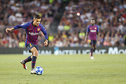 September 18, 2018 - Barcelona, Spain - FC Barcelona midfielder Philippe Coutinho (7) during the UEFA Champions League match between FC Barcelona and PSV Eindhoven at Camp Nou Stadium corresponding of matchday 1, group B on September 18, 2018 in Barcelona, Spain. (Credit Image: © Urbanandsport/NurPhoto/ZUMA Press)