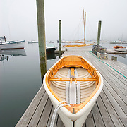 "Wooden skiff, ""Sadie Lewis"", built by Richard Stanley of Great Harbor Boatworks of Southwest Harbor, Maine"