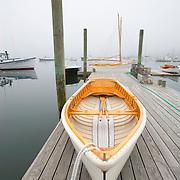 "Wooden skiff, ""Sadie Lewis"", built by Richard Stanley of Great Harbor Boatworks of Southwest Harbor, Maine"