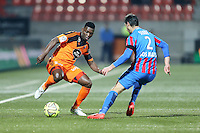 Lamine GASSAMA - 14.03.2015 - Lorient / Caen - 29eme journee de Ligue 1<br /> Photo : Vincent Michel / Icon Sport
