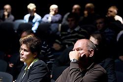 na okrogli mizi o krizi slovenskega rokometa danes, 26. oktober 2010, kongresna dvorana Mercurius, BTC City, Ljubljana, Slovenija. (Photo by Vid Ponikvar / Sportida)