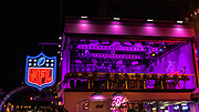 Apr 25, 2019; Nashville, TN, USA; General overall view of the NFL Network set at the Tootsies Orchid Lounge at 422 Broadway during the 2019 NFL Draft. (Brian Villanueva/Image of Sport)