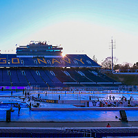ANNAPOLIS, MD - MARCH 03: A general view of the field on March 3, 2018, at the Navy - Marine Corps Memorial Stadium in Annapolis, MD.  prior to the start of the Stadium Series game between the Toronto Maple Leafs and the Washington Capitals.