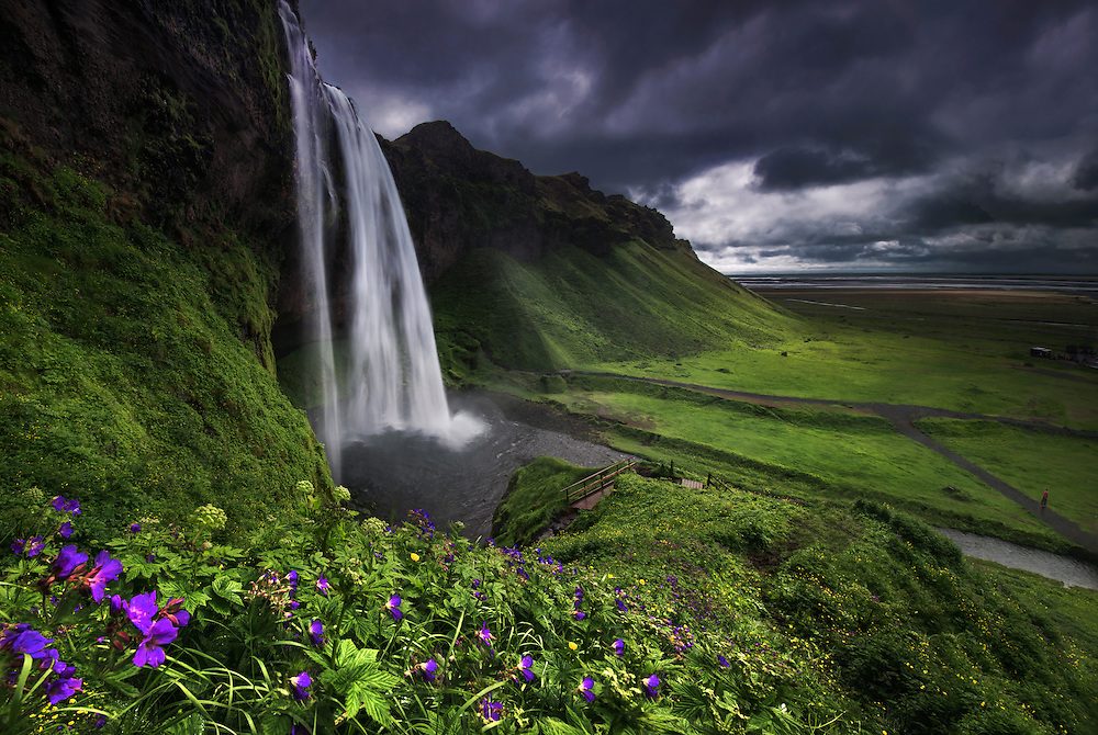 Seljalandsfoss,iceland,waterfall,maxrive,summer