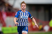 Felicity Gibbons (Brighton & Hove) during the Brighton and Hove Albion Women vs Arsenal Women, FA WSL Cup at The People's Pension Stadium, Crawley, England on 3 November 2019.