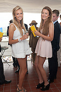 ROSIE CRAMPIN; BETH CARNEGIE, Ladies Day, Glorious Goodwood. Goodwood. August 2, 2012