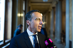 06.09.2016, Parlament, Wien, AUT, SPÖ, Sitzung des Parteipräsidiums. im Bild Bundeskanzler Christian Kern (SPÖ) // Federal Chancellor of Austria Christian Kern during board meeting of the austrian social democratic party at austrian parliament in Vienna, Austria on 2016/09/06. EXPA Pictures © 2016, PhotoCredit: EXPA/ Michael Gruber