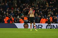 Football - 2019 / 2020 Premier League - Southampton vs. Everton<br /> <br /> Southampton's Jannik Vestergaard hides his face in his shirt as southampton concede a goal at St Mary's Stadium Southampton<br /> <br /> COLORSPORT/SHAUN BOGGUST