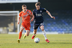 Greg Docherty of Shrewsbury Town tussles with Sam Hart of Southend United - Mandatory by-line: Arron Gent/JMP - 30/03/2019 - FOOTBALL - Roots Hall - Southend-on-Sea, England - Southend United v Shrewsbury Town - Sky Bet League One