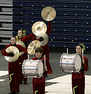Kettering's Fairmont High School competes at the Dayton Percussion Regional Finals, in the James Trent Arena, Sunday morning.