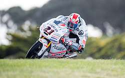 October 22, 2016 - Melbourne, Victoria, Australia - Italian rider Francesco Bagnaia (#21) of Pull & Bear Aspar Mahindra Team in action during the 3rd Moto3 Free Practice session at the 2016 Australian MotoGP held at Phillip Island, Australia. (Credit Image: © Theo Karanikos via ZUMA Wire)