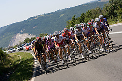 Peloton at 1st stage of Tour de Slovenie 2009 from Koper (SLO) to Villach (AUT),  229 km, on June 18 2009, in Koper, Slovenia. (Photo by Vid Ponikvar / Sportida)