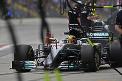 November 10, 2017 - Sao Paulo, Brazil - Motorsports: FIA Formula One World Championship 2017, Grand Prix of Brazil, .#44 Lewis Hamilton (GBR, Mercedes AMG Petronas F1 Team) (Credit Image: © Hoch Zwei via ZUMA Wire)