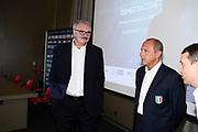 Sacchetti<br /> Raduno Nazionale Maschile Senior<br /> Presentazione Sacchetti, T-Hotel<br /> Cagliari, 05/08/2017<br /> Foto Ciamillo-Castoria/ GiulioCIamillo