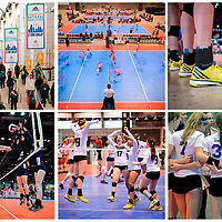 A montage of pictures form the Adidas Windy City National Volleyball Qualifier in Chicago