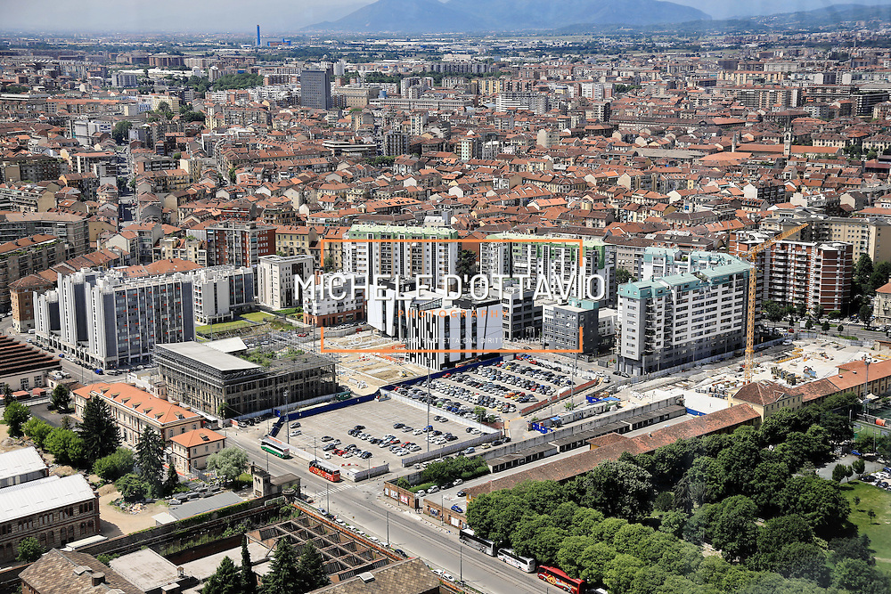 Torino 25 maggio 2016: <br /> Energy Center la nuova struttura sorge sull&rsquo;area industriale dismessa ex Westinghouse di Torino, nei pressi della Cittadella politecnica, tra le vie Nino Bixio e Paolo Borsellino.