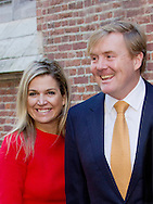 Leiden, 01-10-2015<br /> <br /> King Willem-Alexander and Queen Maxima attend a meeting about China at the University of Leiden<br /> <br /> <br /> Photo: Royalportraits Europe/Bernard Ruebsamen