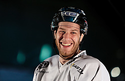 10.08.2015, Red Bull Akademie Liefering, Salzburg, AUT, EBEL, Medien Tag, im Bild Kevin Moderer (LIWEST Black Wings Linz) // during the Erste Bank Icehockey League Media Da at the Red Bull Football and Icehockey Academy Liefering in Salzburg, Austria on 2015/08/10. EXPA Pictures © 2015, PhotoCredit: EXPA/ JFK